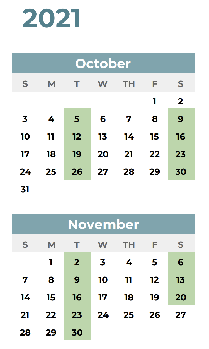 ICC Premier Coaching Certification Calendar