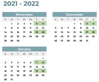 ENG ICC Team Coaching Calendar