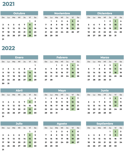 ICC SPA07 Calendario